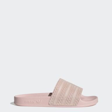 Roze - Slippers   adidas Nederland