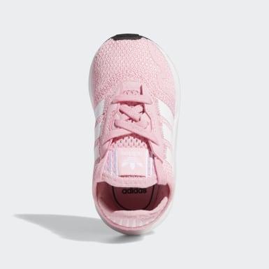 Scarpe Swift Run X Rosa Bambini Originals