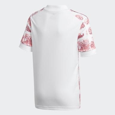 Camiseta segunda equipación Red Star FC 20/21 Blanco Niño Fútbol