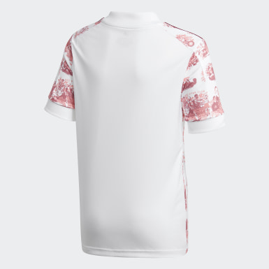 Barn Fotboll Vit Red Star FC 20/21 Away Jersey