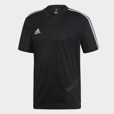 Heren Training zwart Tiro 19 Training Voetbalshirt