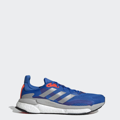 Men Running Blue SolarBoost 3 Shoes