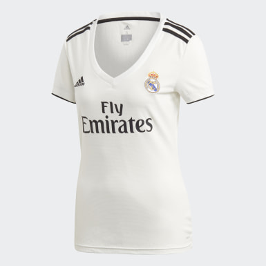 Maillot Real Madrid Domicile Blanc Femmes Football