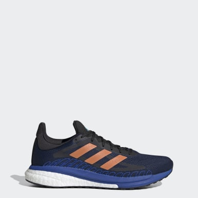 Men Running Blue SolarGlide ST 3 Shoes