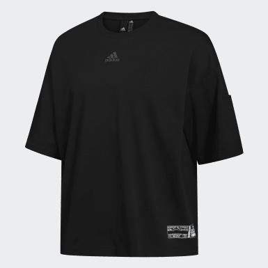 Camiseta ID Negro Hombre Athletics