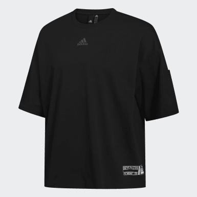 Men Athletics Black ID Tee