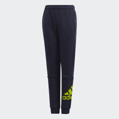 Must Haves Badge of Sport Fleece Pants Niebieski