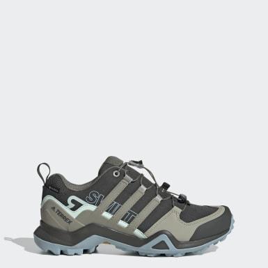 Sapatos de Caminhada Swift R2 GORE-TEX TERREX Verde Mulher TERREX