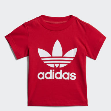 Koszulka Trefoil Czerwony