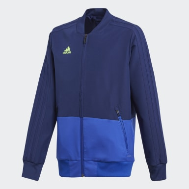 Kids Training Blue Condivo 18 Presentation Jacket