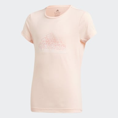 Youth 8-16 Years Studio Pink UP2MV AEROREADY T-Shirt