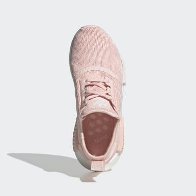 เด็ก Originals สีชมพู รองเท้า NMD_R1