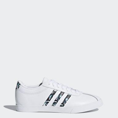 Sapatos Courtset Branco Mulher Ténis