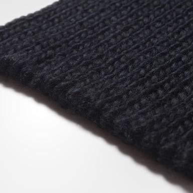 черный Комплект: варежки и шарф