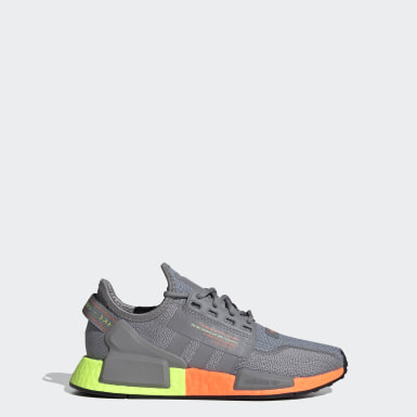 Kids Originals Grey NMD_R1 V2 Shoes