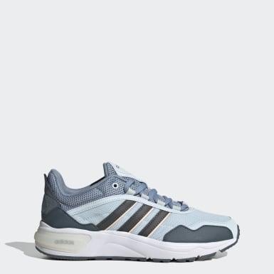 Women Sport Inspired Blue 90s Runner Shoes