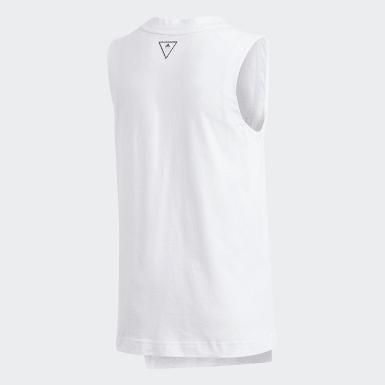 Camiseta de tirantes XFG Blanco Niña Athletics