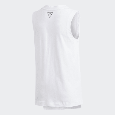 Playera Sin Mangas XFG Blanco Niña Training