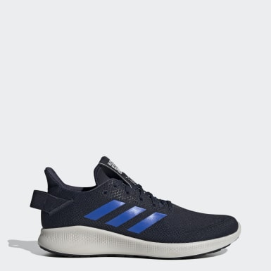 Men Running Blue Sensebounce + Street Shoes