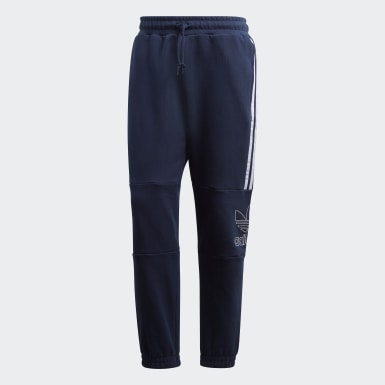 Pants Outline Azul Hombre Originals