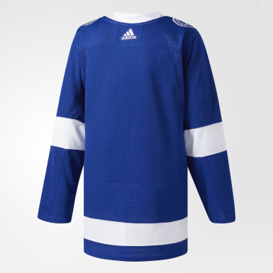 Hockey Blue Lightning Home Authentic Pro Jersey