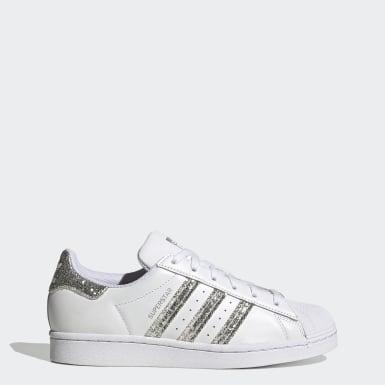 Women's Originals White Superstar Shoes