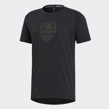 Men's Volleyball Black USA Volleyball Tee