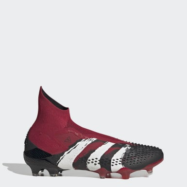 Men Football Red Predator Mutator 20+ Human Race Firm Ground Boots