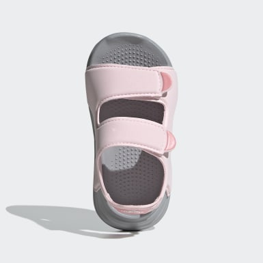 Infants Swimming Pink Swim Sandals