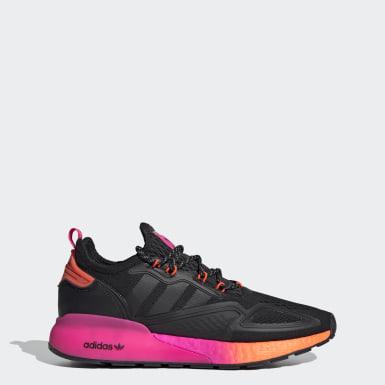 Sapatos ZX 2K Boost Preto Originals