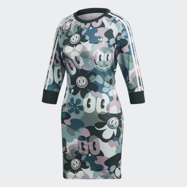 разноцветный Платье 3-Stripes