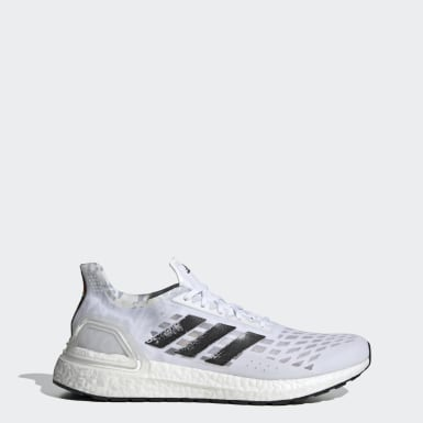 Running White Ultraboost PB Shoes
