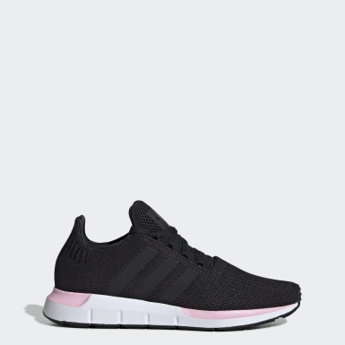 Women Originals Black Swift Run Shoes