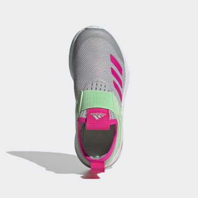 Children Running Grey ActiveRide Shoes