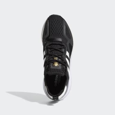 Women Originals Black ZX 2K Boost Shoes