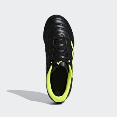 Zapatos de Fútbol Copa 19.4 Césped Artificial Negro Niño Fútbol