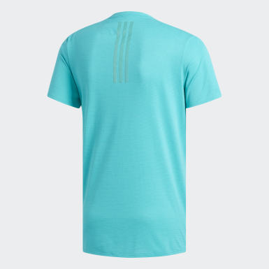 Men Running Turquoise Supernova Tee