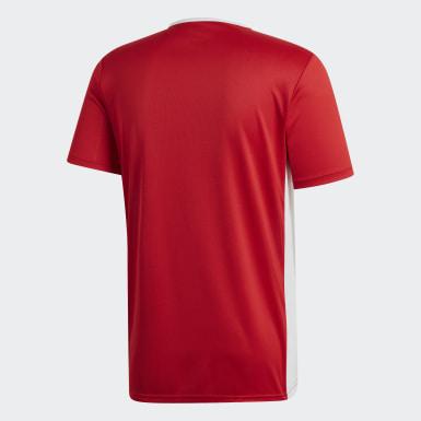 Camisa Entrada18 Vermelho Homem Futebol