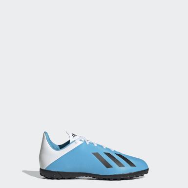 Zapatos de Fútbol X 19.4 Césped Artificial Turquesa Niño Fútbol