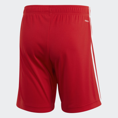 Erkek Futbol Kırmızı FC Bayern İç Saha Şortu