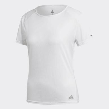 Kadın Koşu Beyaz Run Tişört