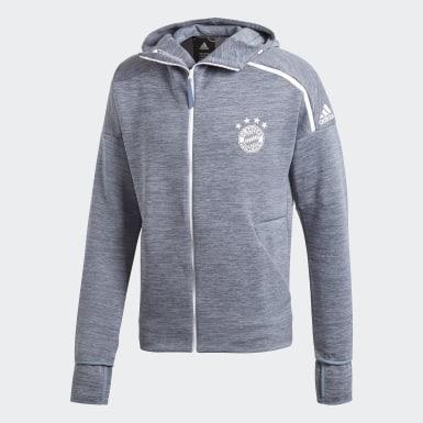 синий Толстовка Бавария Мюнхен adidas Z.N.E.