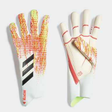 Football White Predator 20 Pro Goalkeeper Gloves