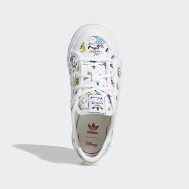 Chaussure Nizza x Disney Sport Goofy blanc Enfants Originals