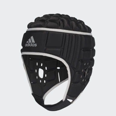Casco Protector de Rugby Negro Hombre Rugby