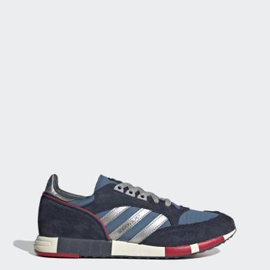 Originals Blauw Boston Super Schoenen