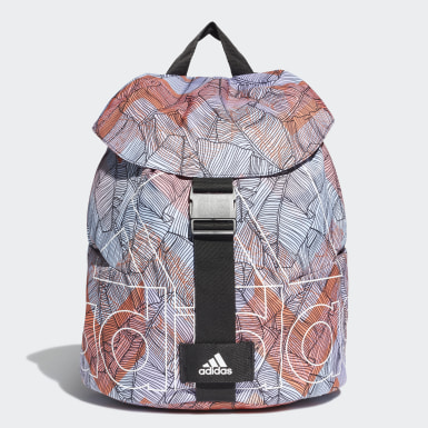 Women's Yoga Blue Flap Backpack