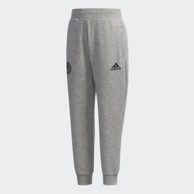 Boys Training Grey French Terry Pants