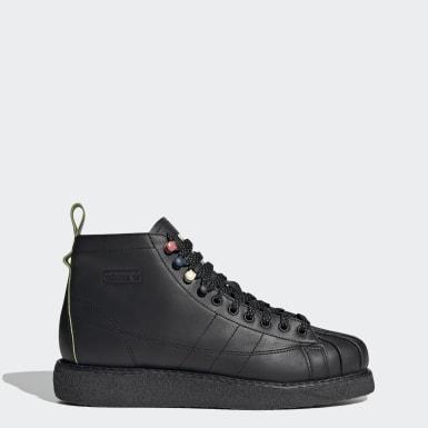 Women Originals Black Superstar Luxe Boots