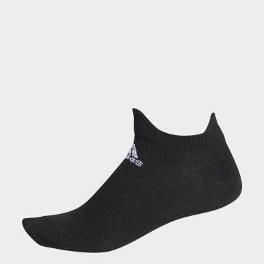 Handball Black Alphaskin Low Socks